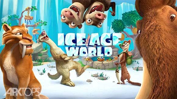 Ice Age World دانلود بازی دنیای عصر یخ بندان