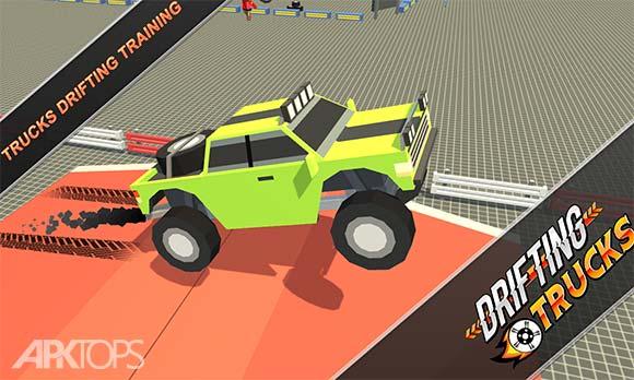 Drifting Trucks Rally Racing دانلود بازی رانندگی با کامیون ها برای اندروید