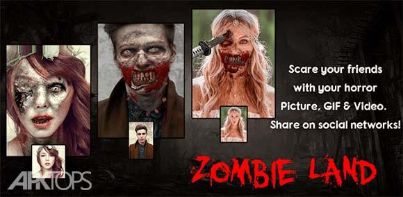 Zombie Land Video GIF & Face Photo Editor دانلود برنامه تبدیل چهره به زامبی
