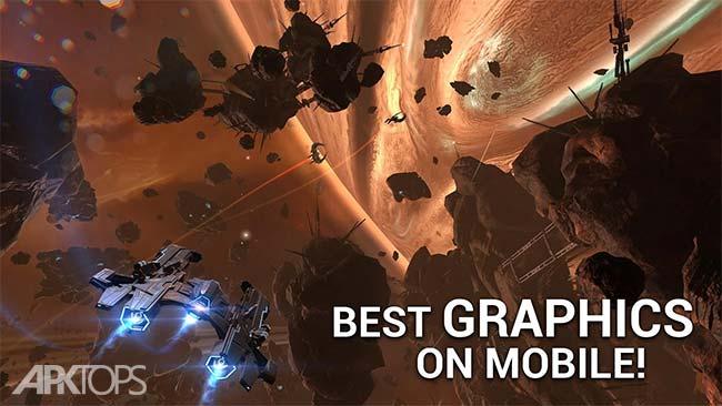 Galaxy on Fire 3 Manticore v1.6.10 دانلود بازی جذاب کهکشان زیر اتش 3