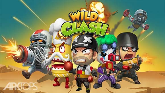 Wild Clash Online Battle دانلود بازی آنلاین نبرد وحشیانه برای اندروید
