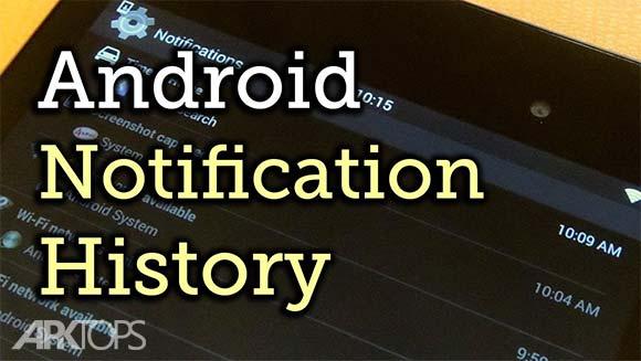 Notification History Pro دانلود برنامه تاریخچه ی اطلاع رسانی ها اندروید