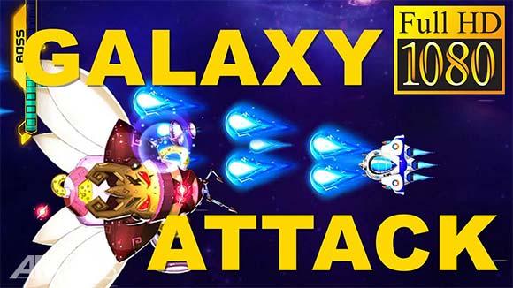 Space Shooter Galaxy Shooting دانلود بازی تیراندازی در فضا برای اندروید