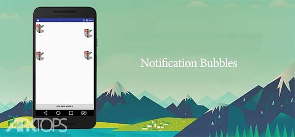 Notification Bubbles دانلود برنامه نمایش نوتیفیکیشن ها در حباب