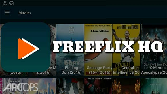 FreeFlix HQ دانلود برنامه تماشای آنلاین فیلم ها و سریال ها اندروید