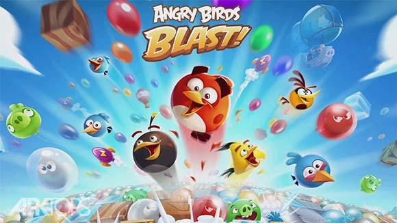 Angry Birds Blast Island  بازی پرندگان خشمگین جزیره انفجار برای اندروید