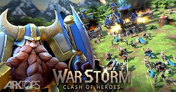 WarStorm Clash of Heroes دانلود بازی طوفان جنگ برای اندروید