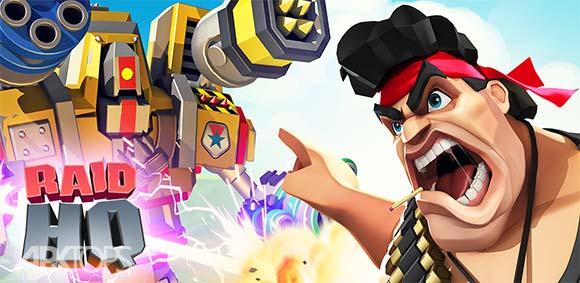 RAID HQ دانلود بازی گروه نبرد