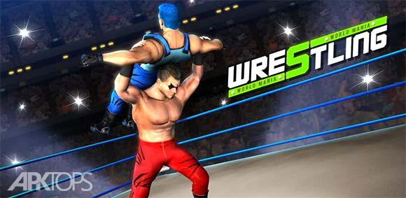 Wrestling World Mania Wrestlemania Revolution دانلود بازی کشتی گیری جهانی دیوانه وار
