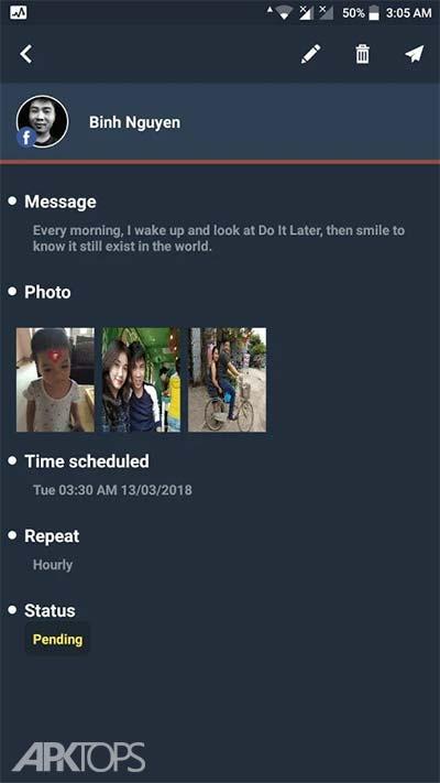 Do It Later v2.6.2 دانلود بعدا انجام بده برنامه برنامه ریزی کار ها