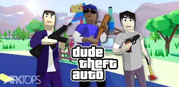 Dude Theft Auto Open World Sandbox Simulator دانلود بازی سرقت شخصی ماشین