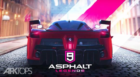 Asphalt 9 Legends آسفات 9 اندروید