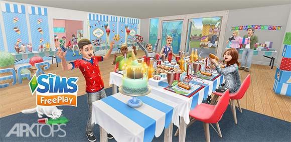 The Sims FreePlay v5.37.1 دانلود بازی پرطرفدار سیمز