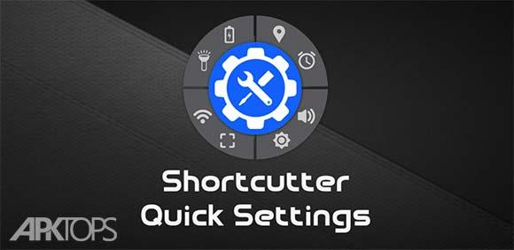 Shortcutter – Quick Settings & Side Bar Premium v5.5.6 برنامه ایجاد میانبر برای تنظیمات