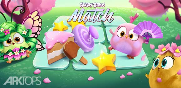Angry Birds Match v1.2.0 دانلود بازی محبوب جورچین پرندگان عصبانی