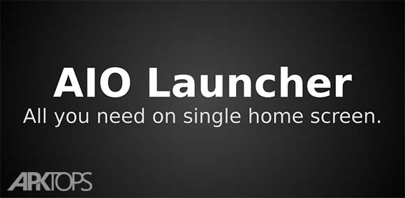 AIO Launcher دانلود برتامه لانچر متفاوت آیو