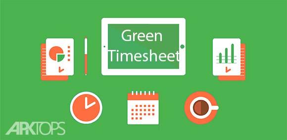 Green Timesheet shift work log and payroll app دانلود برنامه مدیریت شیفت های کاری