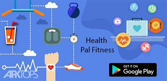Health Pal Fitness Weight loss coach & Pedometer دانلود برنامه مدیریت سلامت بدن و ورزش