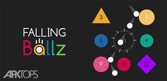 Falling Ballz دانلود بازی سقوط توپ ها