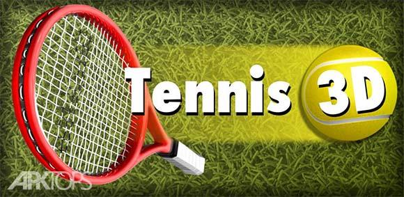 Tennis Champion 3D دانلود بازی جذاب قهرمان تنیس سه بعدی