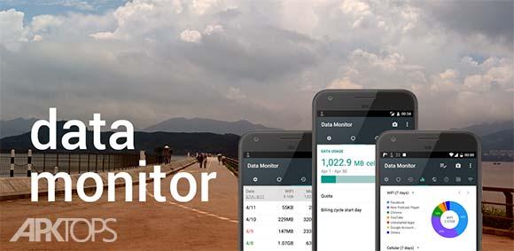 Data Monitor Simple Net Meter دانلود برنامه مانیتور کردن حجم مصرفی اینترنت