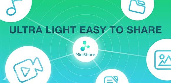 Zapya MiniShare Mini Size File Transfer App دانلود برنامه انتقال فایل ها بین گوشی ها
