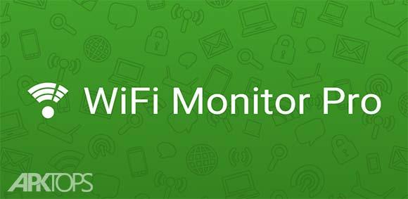 WiFi Monitor Pro دانلود برنامه مانیتور کردن وای فای