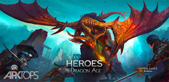 Heroes of Dragon Age دانلود بازی هیجان انگیز قهرمانان عصر اژدها
