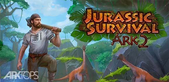 The Ark of Craft 2 Jurassic Survival Island دانلود بازی جذاب صندوقچه مهارت2 بقا در جزیره ژوراسیک