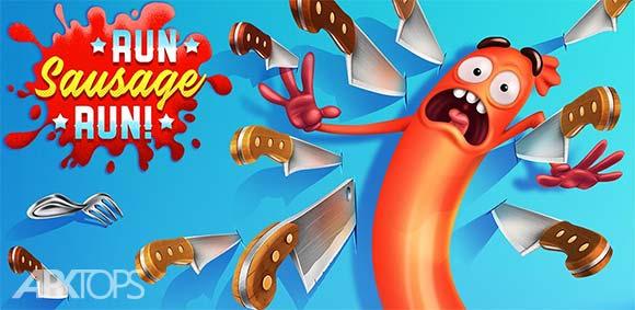 Run Sausage Run دانلود بازی جذاب فرار سوسیس