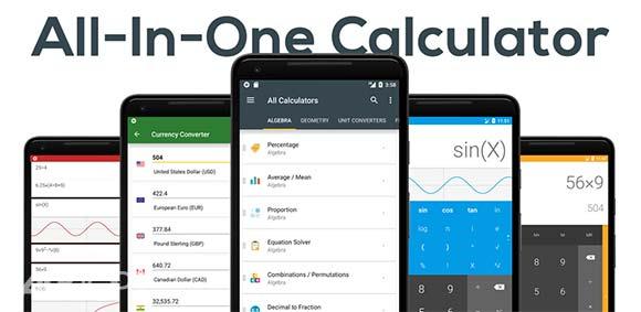 All-In-One Calculator Free دانلود برنامه ماشین حساب همه کاره