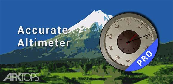 Accurate Altimeter Pro دانلود برنامه ارتفاع سنج