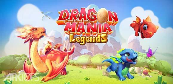 Dragon Mania Legends دانلود بازی فوق العاده ی افسانه هی اژدهای عاشق