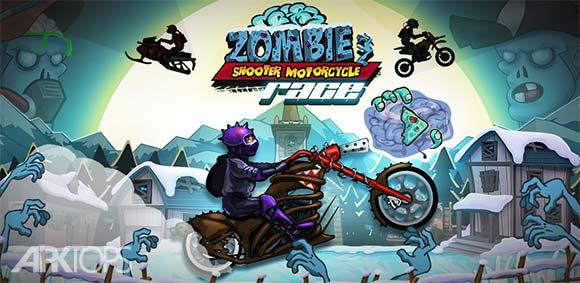 Zombie Shooter Motorcycle Race دانلود بازی تیراندازی با موتور سیکلت به زامبی ها