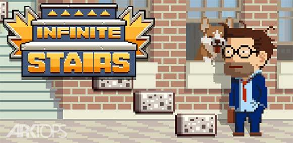 Infinite Stairs دانلود بازی جذاب پله های بی انتها