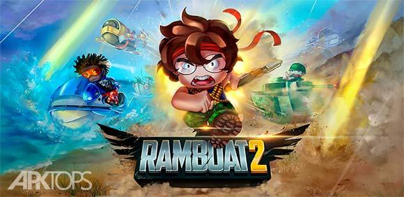 Ramboat 2 Soldier Shooting Game دانلود بازی رمبوت 2 سرباز تیر انداز