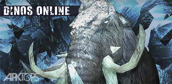 Dinos Online دانلود بازی فوق العاده نبرد آنلاین دایناسورها