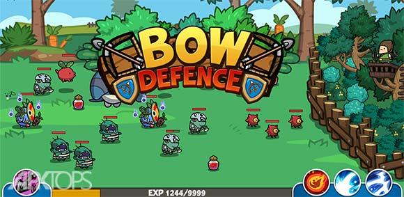 Bow Defence دانلود بازی دفاع با کمان