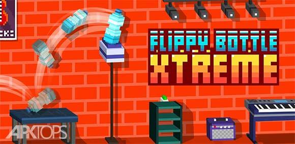 Flippy Bottle Extreme دانلود بازی پرتاب بی نهایت بطری