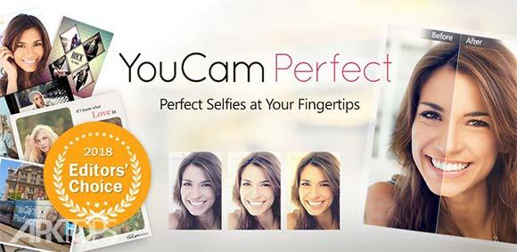 YouCam Perfect Selfie Photo Editor دانلود برنامه ویرایش کامل عکس های سلفی یوکم