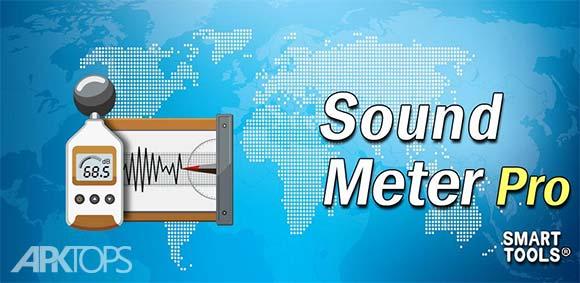 Sound Meter Pro دانلود برنامه اندازه گیری میزان صدا