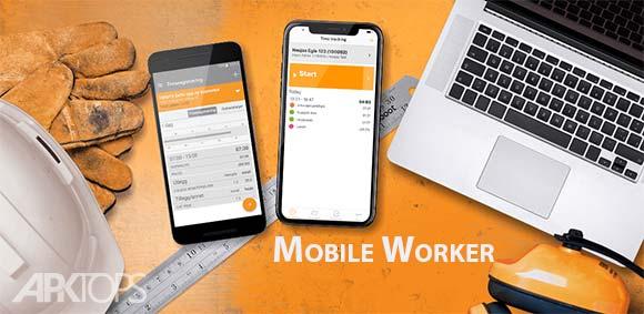 Mobile Worker Time tracker دانلود برنامه اندازه گیری زمان کار