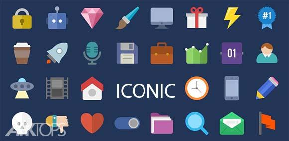 Iconic Icon Maker Custom Logo Pack Design دانلود برنامه طراحی آیکون