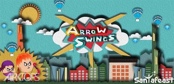 Arrow Swings دانلود بازی چرخش های پیکان