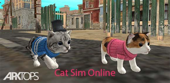 Cat Sim Online Play with Cats دانلود بازی جذاب بازی آنلاین با گربه ها