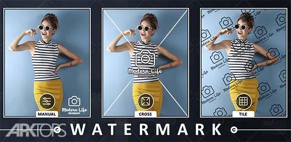 Add Watermark on Photos Pro دانلود برنامه اضافه کردن واتر مارک روی تصاویر