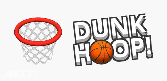 Dunk Hoop دانلود بازی حلقه ی شناور