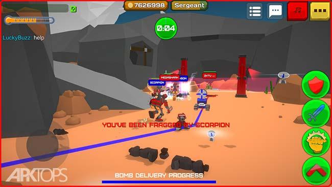 Armored Squad Mechs vs Robots v1.8.0 دانلود بازی جوخه ی زرهی + مود اندروید