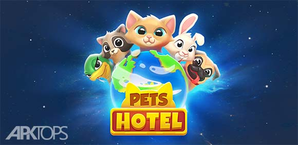Pets Hotel Idle Management & Incremental Clicker دانلود بازی هتل حیوانات خانگی