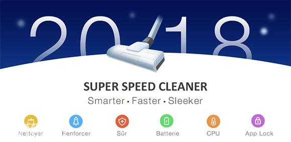 Super Speed Cleaner Antivirus & Booster دانلود برنامه بهینه سازی سریع گوشی و آنتی ویروس